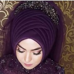 Ready Duval Models the to the Bridal Hijab, Bridal Hair, Bridal Dresses, Hijab Skirt, Hijabi Wedding, Fairytale Bridal, Hair Wrap Scarf, Hijab Style Tutorial, Simple Hijab