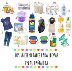 16 esenciales para llevar en tu pañalera | Blog de BabyCenter @target #maternidad #productos #bebe