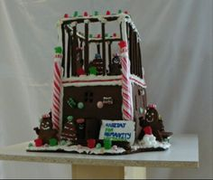 Building Christmas - Canada's National Gingerbread Showcase #gingerb2013 #christmas