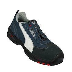 Puma Arbeitsschuhe S1P SRC Sicherheitsschuhe Businessschuhe flach Blau - http://on-line-kaufen.de/puma/37-puma-safety-shoes-skylon-low-s1p-esd-src-puma-310