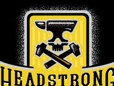 Headstrong Brewing Co. the global community for designers and creative professionals. Brewing Co, Board, Creative, Sign, Planks