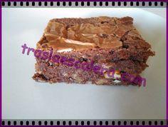 Receta muy fácil de brownie de nocilla