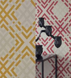 Projection perspectives - Camengo. Link in the bio for the best price per roll  #camengo #perspectives #pink #mustard #geometric #diamond #transformationtuesday #tuesday   #interior #interiors #interiores #interior123 #interiordesign #interiordesigner #wallpaper #wallpapersales #wallcovering #decoration #decor #instalike #instagood #instadaily #lfl #fff #follow4follow #inspiration #home #instadecor #designer #instaart