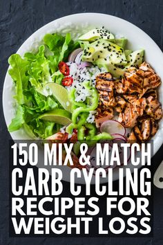 Carb Cycling Diet for Beginners: 30 Days of Carb Cycling Recipes - Low Carb. -The Carb Cycling Diet for Beginners: 30 Days of Carb Cycling Recipes - Low Carb. Weight Loss Meals, Easy Weight Loss, How To Lose Weight Fast, Losing Weight, Reduce Weight, Weight Gain, Lose Fat, Sport Nutrition, Diet And Nutrition