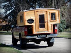 A new pickup camper from Casual Turtle Campers