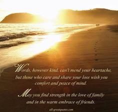 Sorry For Your Loss Quotes Sympathy Quotes Condolence  Condolances  Pinterest  Condolences