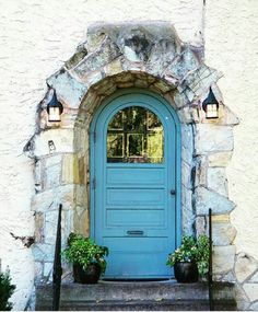Painted Doors, Knock Knock, Garden, Painting, Home Decor, Decoration Home, Room Decor, Lawn And Garden, Painting Art