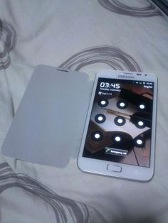 My White Galaxy Note. Cool phone