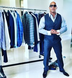 """Production for #ballers Season 2 starting next week, the character's threads must match his ambitions... and hide his demons. Great final fitting with my…"""