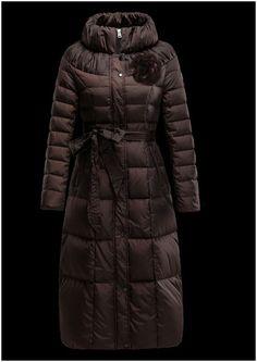ffe544a9bea doudoune longue moncler outlet manteau femme hiver Col pas cher doudoune  italienne
