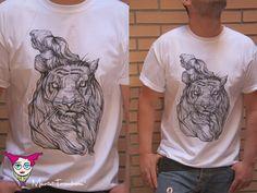 Marivi Trombeta: Camisetas Animal Hair - nueva línea con impresión serigráfica