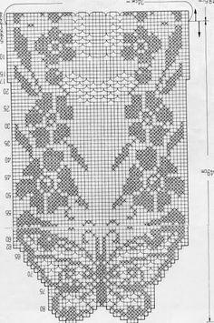 please Butterfly pattern Crochet Curtain Pattern, Crochet Curtains, Crochet Doily Patterns, Thread Crochet, Crochet Motif, Crochet Designs, Crochet Doilies, Crochet Stitches, Knit Crochet