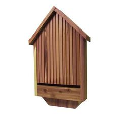 A Deluxe Bat House is $29.99 from Amazon.