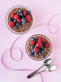 Chiavanukas | K-Ruoka Acai Bowl, Breakfast, Red, Beautiful, Acai Berry Bowl, Morning Coffee, Morning Breakfast, Rouge