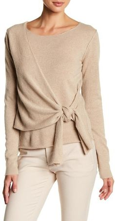 Brochu Walker Seine Pullover Cashmere Sweater #winterfashion #wintertrends