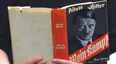 """Image copyright                  AFP                                                                          Image caption                                      Una copia original de """"Mi lucha"""": fue el manifiesto de Hitler para la conquista y la intolerancia racial.                                No es un libro nuevo y tampoco es considerado uno bien e"""