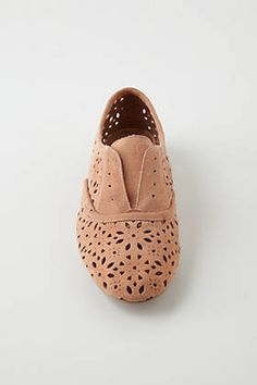 Lacy Suede Oxfords / Anthropologie