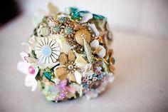 Wedding Wednesday: Brooch Bouquets