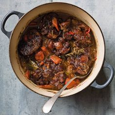 Long out of fashion, oxtail—cattle tail that is typically cut across the bone into thick steaks—has lately experience something of a Renaissance as people have rediscovered that long, slow cooking tur