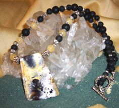 SPRING STORM .... Mexican Crazy Lace Agate by GypsyJulsJewels, $114.95  ... Love this one!