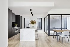 The Secrets of A Respected Art Deco Style Kitchen in the Renovation of the Newcastle House Revealed - homemisuwur Modern Kitchen Design, Interior Design Kitchen, Inspired Homes, Kitchen Styling, Home Renovation, Home Kitchens, Interior Architecture, New Homes, Home Decor