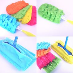 Sweeper Cover for Swiffer and Hand Duster Refill, Set of 2, Washable / Reusable. $10.00, via Etsy.