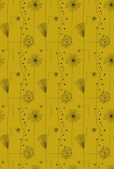 Some of the designs from the 50s selected by textile designer Lucienne Day
