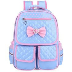 Abshoo Child School Bookbag Cute Kids School Backpacks for Girls (Blue) Kids School Hairstyles, Cute Hairstyles For Kids, Little Girl Hairstyles, Gorgeous Hairstyles, Natural Hairstyles, Trendy Hairstyles, Ponytail Hairstyles, Cute Backpacks, Girl Backpacks