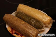 Hungarian Recipes, Sausage, Baking, Food, Candy, Sausages, Bakken, Essen, Meals