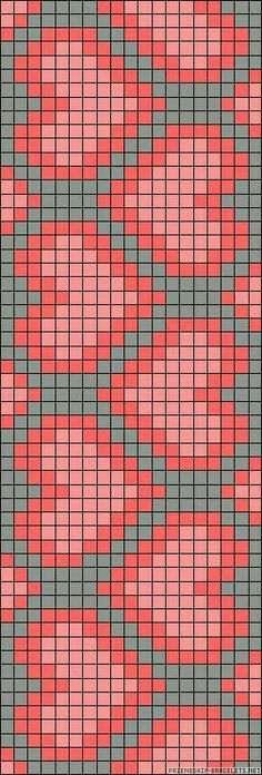 heart chart could be used for knitting, crochet, cross-sitch. Might be great on a wayuu mochilla Mochila Crochet, C2c Crochet, Crochet Chart, Filet Crochet, Crochet Cross, Crochet Poncho, Crochet Summer, Crochet Braids, Crochet Baby