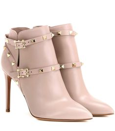 dc24771d443 Valentino - Rockstud leather ankle boots - Valentino presents the latest…