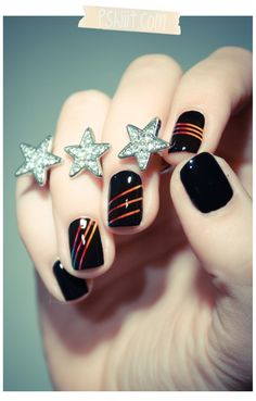 J'ai envie d'arc-en-cieler mes ongles