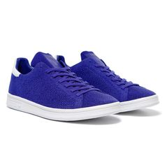 """The adidas Stan Smith Primeknit """"Night Flash"""" is now available from retailers like Haven."""