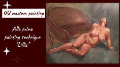 Oil Painting / Alla prima painting technique / Lillia