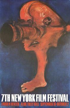 Original 1969 New York Film Festival Art Design Poster Estimated Price: $200 - $360 Description: Marisol, Escobar 1930 -. 7th New York Film Festival. Offset 1969 . Size: 37.4 x 24.4 in. (95 x 62 cm) . Printer: Lincoln Center for the Performing Arts, Inc. .