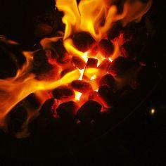 brasas, fuego
