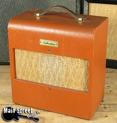 Vintage Silvertone amp