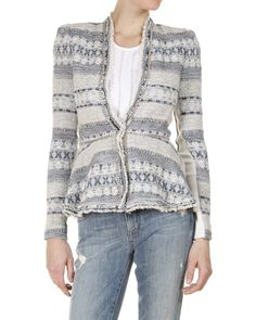 Rebecca Taylor Tweed and Chain Jacket// luv//