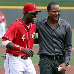 Brandon Phillips & Barry Larkin