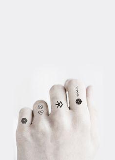 EXO #Tattoos