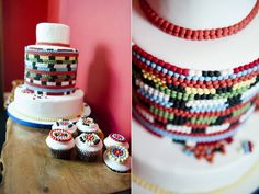 Culturally Chic - An African Inspired Vintage Shoot By Elizabeth Solaru Themed Wedding Cakes, Wedding Cupcakes, Themed Weddings, Wedding Cake Inspiration, Wedding Ideas, Wedding Decor, Wedding Stuff, Traditional Wedding Cakes, Traditional Cakes