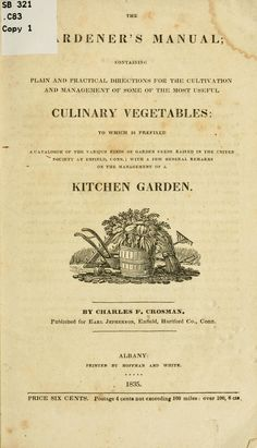 Shaker Garden Book