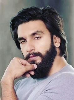 Ranveer Singh Images and photos Ranveer Singh Hairstyle, Ranveer Singh Beard, Bollywood Hairstyles, Hairstyles For Gowns, Mens Hairstyles With Beard, Beard Styles For Men, Hair And Beard Styles, Long Hair Styles, Rachel Green
