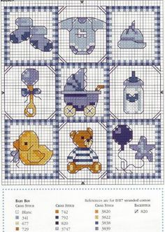 Baby boy diy cards for kids 58 New Ideas Baby Cross Stitch Patterns, Cross Stitch For Kids, Cross Stitch Cards, Cross Stitch Baby, Cross Stitch Designs, Cross Stitching, Baby Embroidery, Cross Stitch Embroidery, Embroidery Patterns