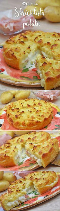 La #sbriciolata di #patate è una variante salata della classica sbriciolata dolce davvero irresistibile. Ecco la #videoricetta