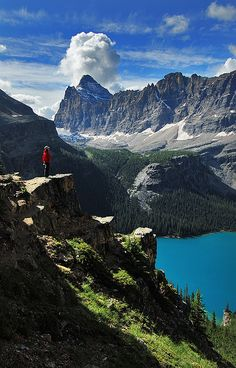 Yoho National Park/ O'Hare Lake         BC Canada