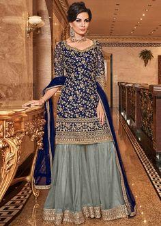 Salwar Kameez, Sharara Suit, Anarkali Suits, Churidar Suits, Patiala, Anarkali Gown, Lehenga, Indian Gowns, Indian Suits