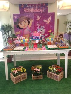 Dora the Explorer Birthday Party Ideas | Photo 1 of 6