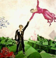 Chagall.  Hey, I need someone to ground me!