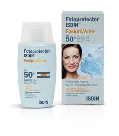 Protectores solares para el rostro: Fotoprotector ISDIN Fusion Water